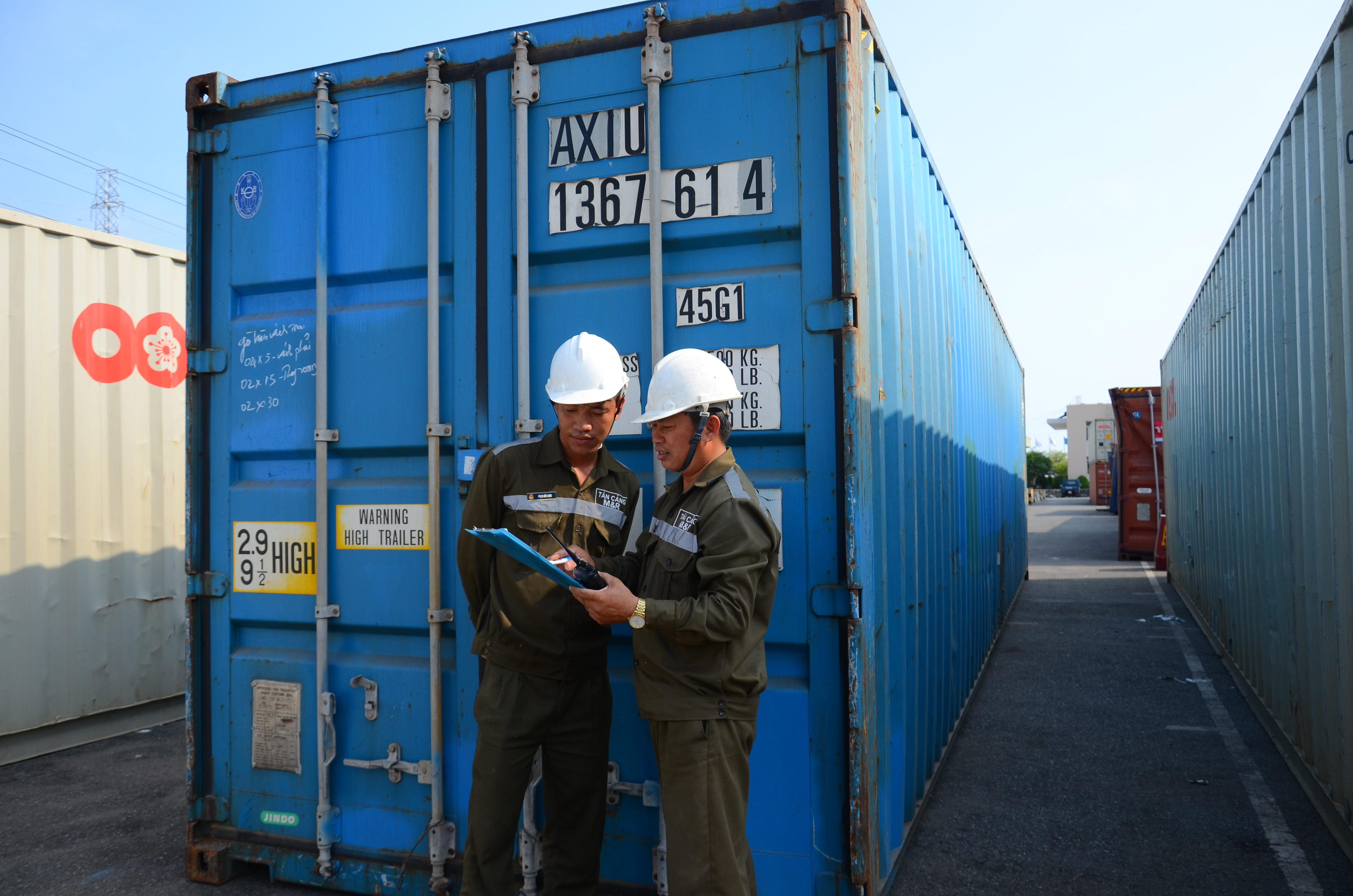 M&R services for containers, trailers, trucks and handling equipment